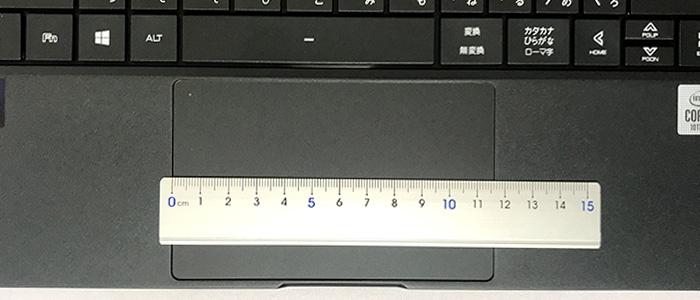 mouse X4 タッチパッド