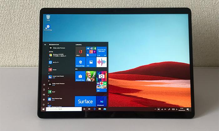 Surface Pro X 液晶