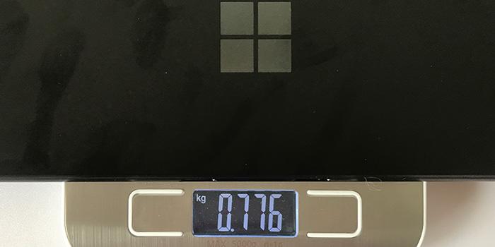 Surface Pro X 重量