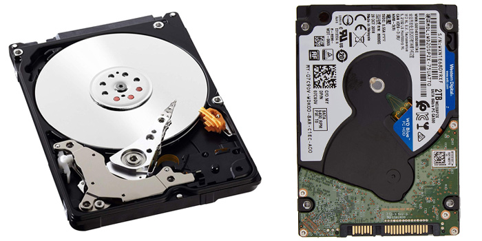 WD 2.5インチHDD