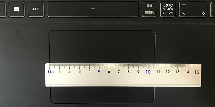 GCR1650GF7 タッチパッド