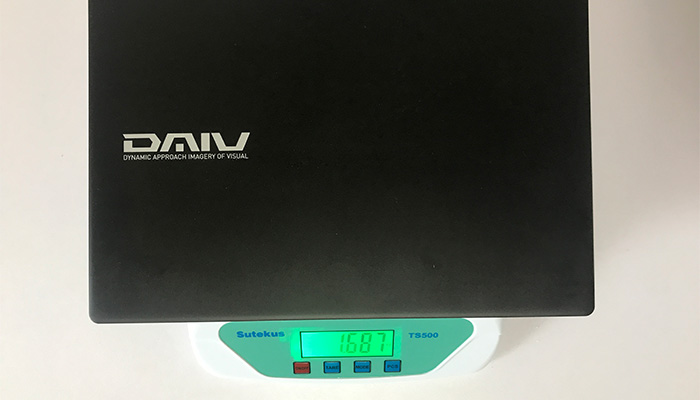 MOUSE DAIV3N 重量