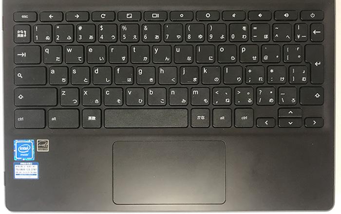 ASUS Chromebook C204MA キーボード