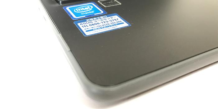 ASUS Chromebook C204MA パームレスト