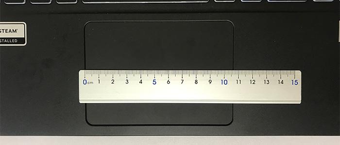 GALLERIA GCL1650TGF タッチパッド