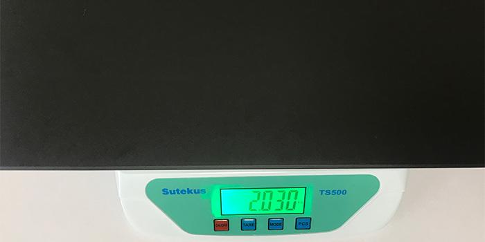 GALLERIA GCL1650TGF 本体重量
