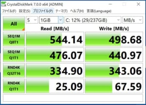 Mouse Pro-NB4 SSDbench