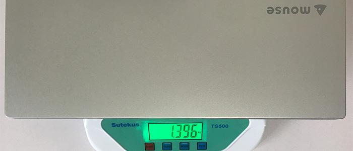 mouse X5 本体重量