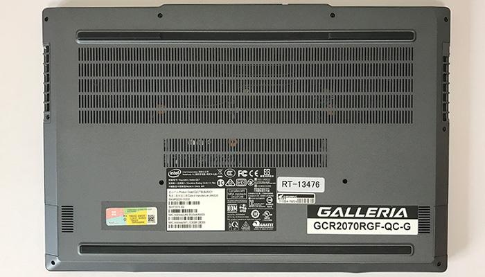 GALLERIA-GCR2070RGF-QC-G 底面