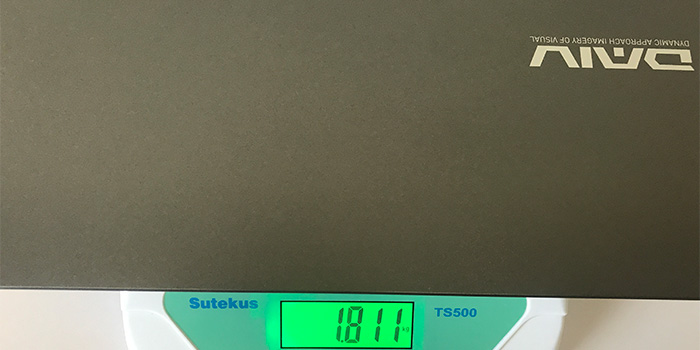 DAIV 5N 重量
