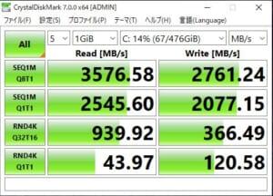HP ENVY x360 15 SSDBENCH