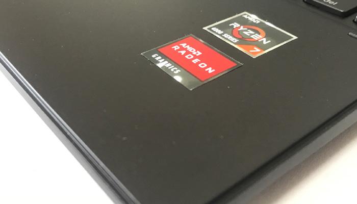 HP ENVY x360 15 パームレスト