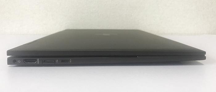 HP ENVY x360 15 左インターフェース