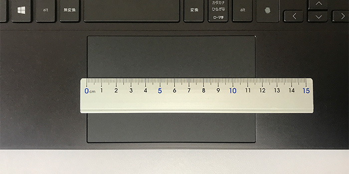 HP ENVY x360 15 タッチパッド