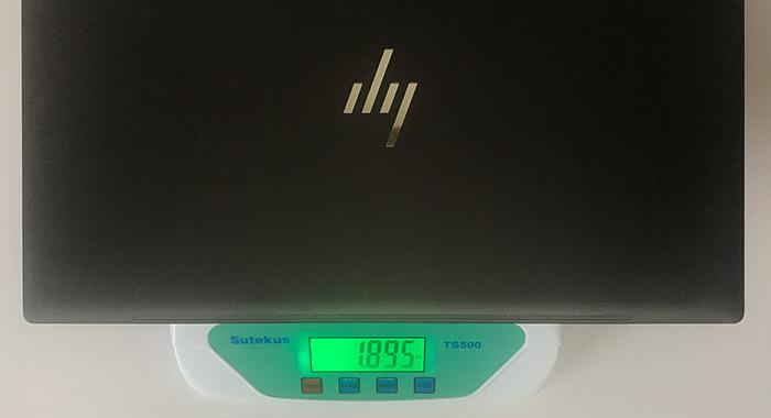 HP ENVY x360 15 本体重量