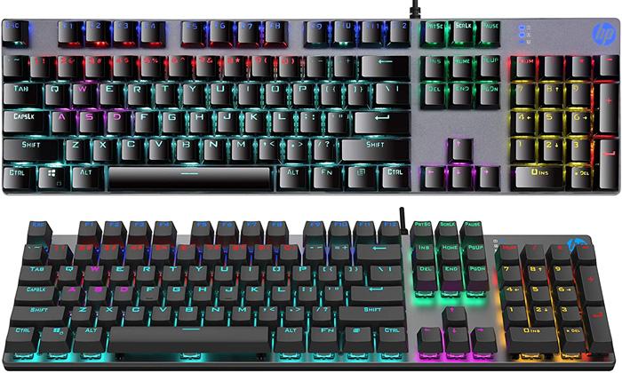 HP スタイリッシュゲーミングキーボード