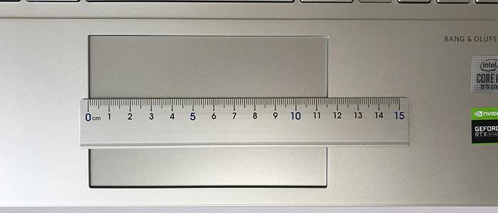 HP ENVY 15 タッチパッド