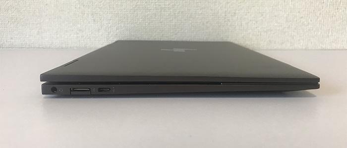 HP ENVY x360 13 インターフェース左側