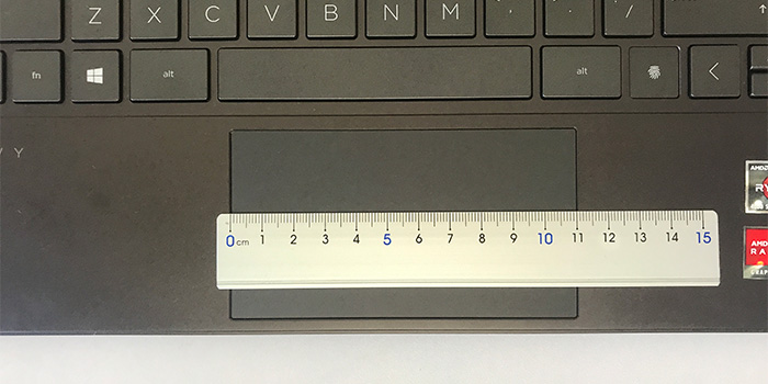 HP ENVY x360 13 タッチパッド