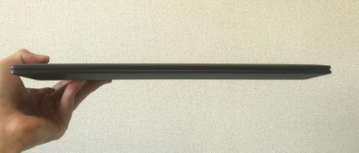 HP ENVY x360 13 薄さ