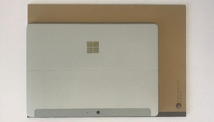 Surface Go2 A4比較