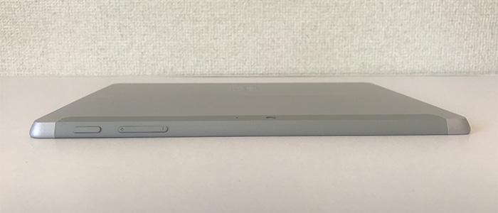 Surface Go2 電源と音量