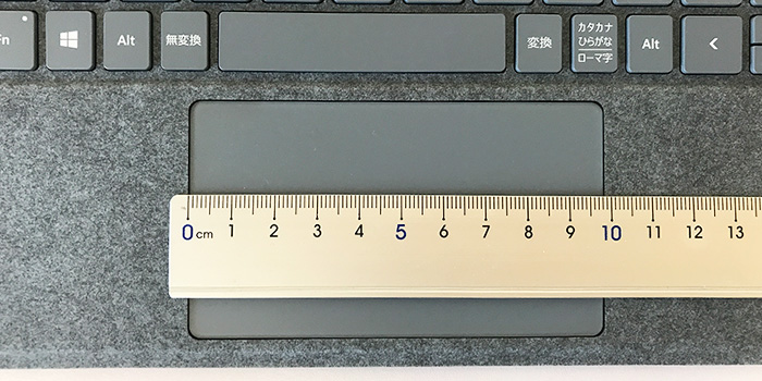Surface Go2 タッチパッド