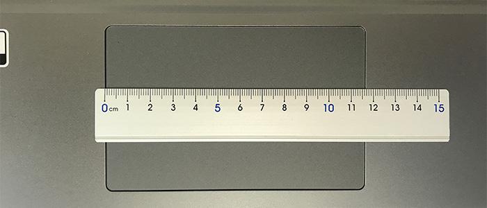 GALLERIA GR1650TGF-T タッチパッド