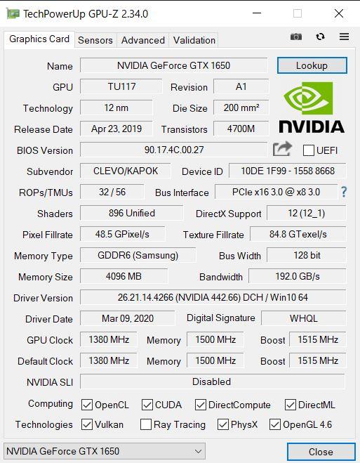 G-Tune P5_GPU-Z