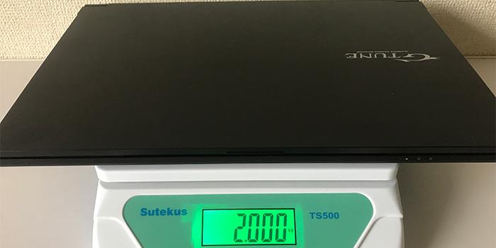 G-Tune P5 重量