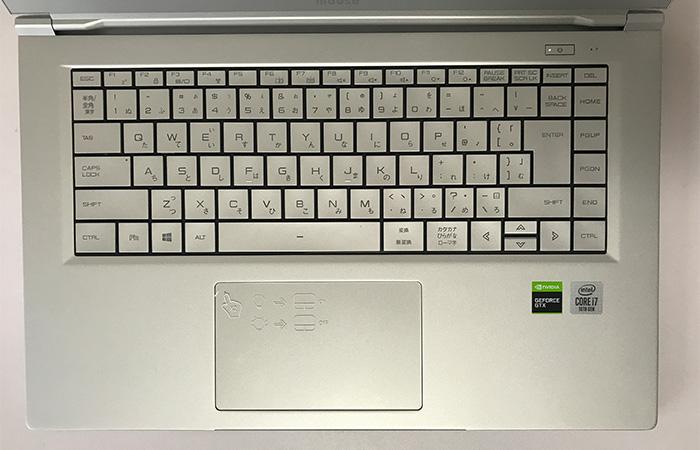 daiv5P キーボード