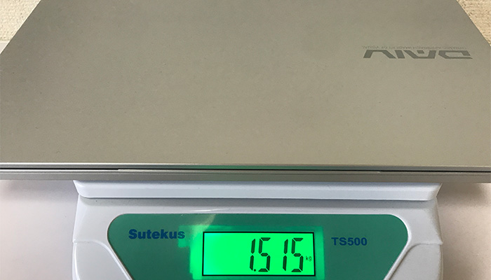 daiv5P 重量