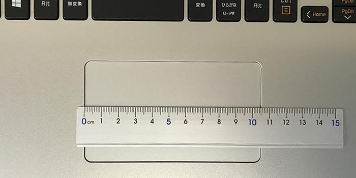 ドスパラ DX-C5 タッチパッド