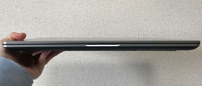 ドスパラ DX-C5 薄さ