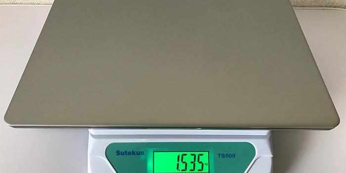ドスパラ DX-C5 本体重量