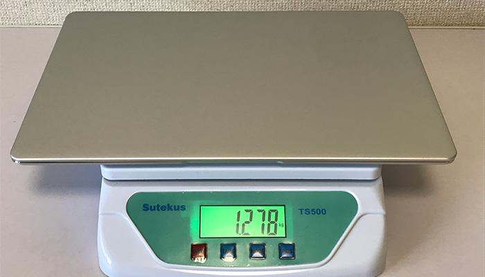 VF-AD4の本体重量