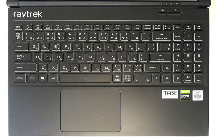 raytrek 5Gのキーボード