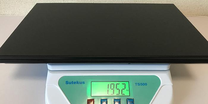 raytrek 5Gの重量