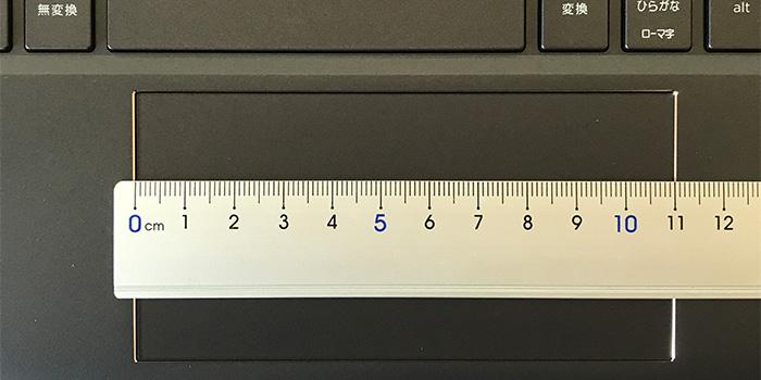 Spectre-x360-13のタッチパッド