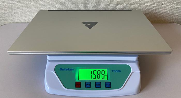 MOUSEB5-i5 本体重量