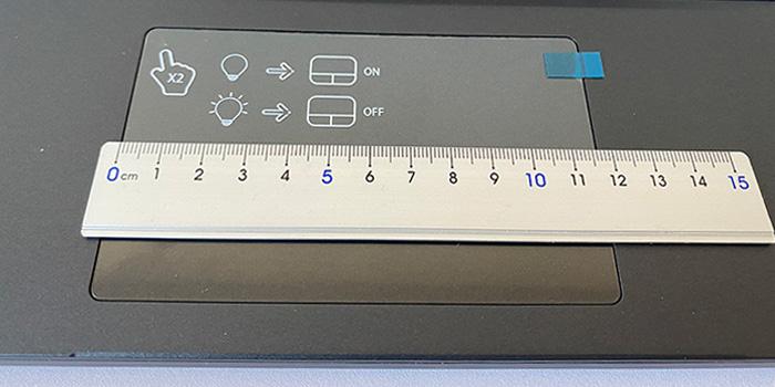 X5-R7 タッチパッド