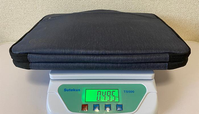 Evoon マルチパソコンケース 本体重量