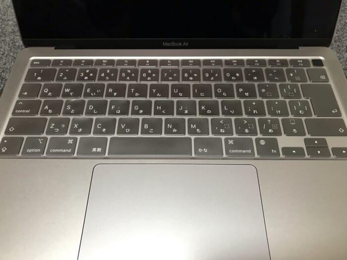 HardShell Case keyboard