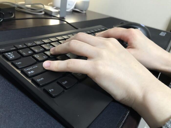 ThinkPad キーボード 使用