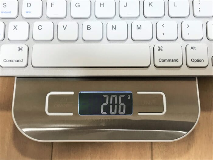 Anker Keyboard 重さ