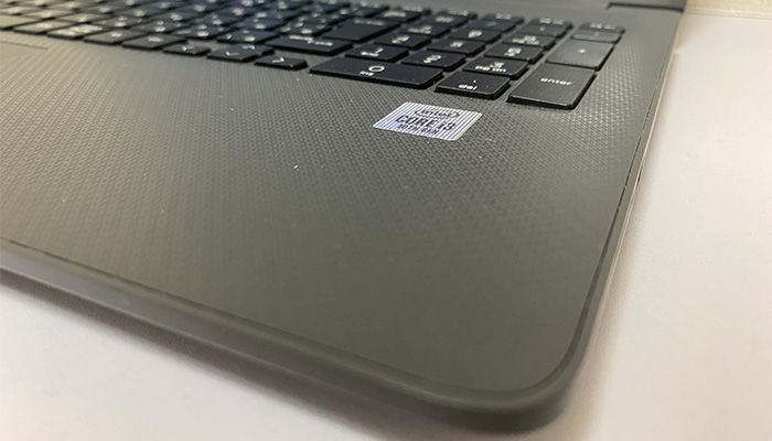 HP 250 G7 パームレスト