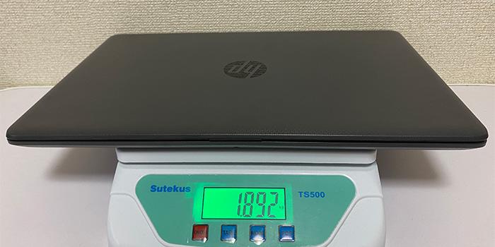 HP 250 G7 重量