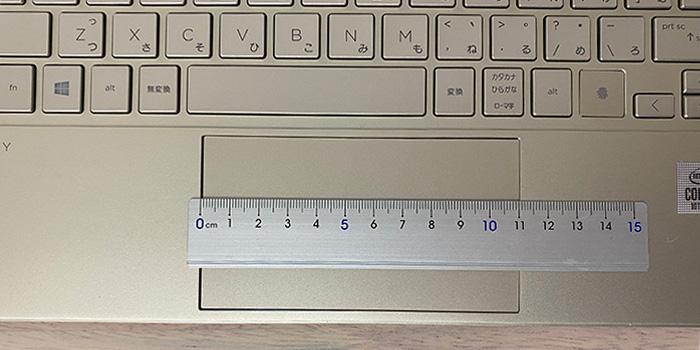 HP-ENVY-13baのタッチパッド