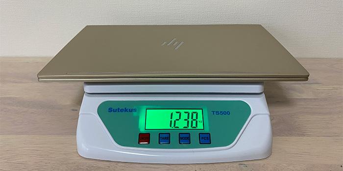 HP-ENVY-13ba 本体重量