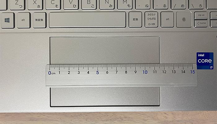 HP ENVY 14-ebのタッチパッド